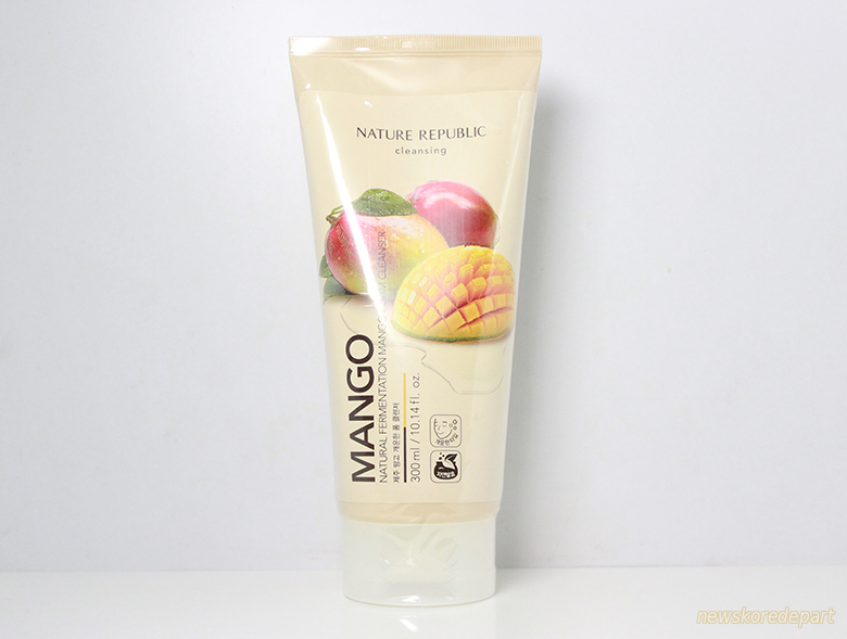 NATURE REPUBLIC Natural Fermentation Mango Foam Cleanser Пенка для умывания c манго
